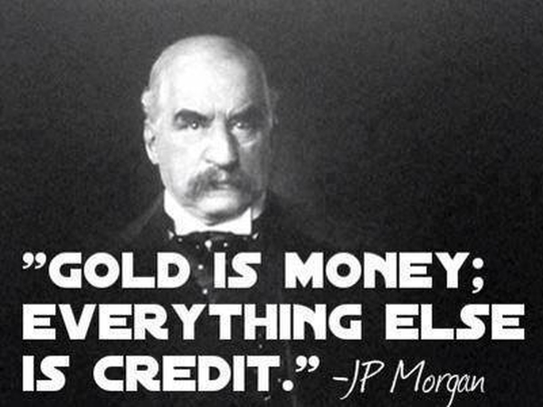 JP Morgan Gold Money